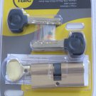 Yale smart door lock cylinder high security euro profile with knob 66 anti bump
