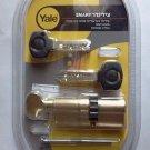 Yale smart door lock cylinder high security euro profile cog wheel gear + knob