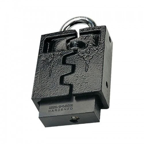 PADLOCK HASP MUL T LOCK C13  REMOVABLE SHACKLE PROTECTOR LATCH CONTAINER GATES