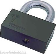 PADLOCK HASP MUL T LOCK C10  REMOVABLE SHACKLE PROTECTOR LATCH CONTAINER GATES