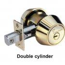 Mul T Lock Interactive Plus + Deadbolt Hercular double cylinder +  3 keys BRASS