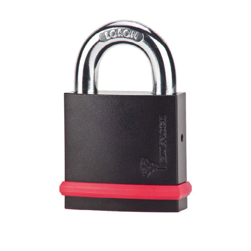 Mul-T-Lock Padlock NE12L High Security NE Series Heavy Duty Interactive BORON