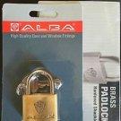 10 X ALBA BRASS PADLOCK 40MM HIGH QUALITY LOCK GATE STORGE TOOL BOX SHED ASSA AB