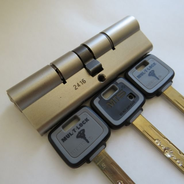 MT5+ Mul-t-lock Cylinder High security 100mm 50+50 euro profile long best lock