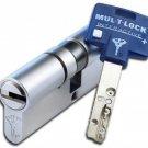 2 KEYED ALIKE MUL T LOCK +5 KEYS INTERACTIVE CYLINDER  DOOR LOCK HIGH SECURITY
