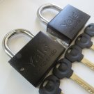 "YALE PADLOCK HIGH SECURITY 3/8"" SHACKLE HEAVY DUTY KEYED ALIKE mul t lock style"