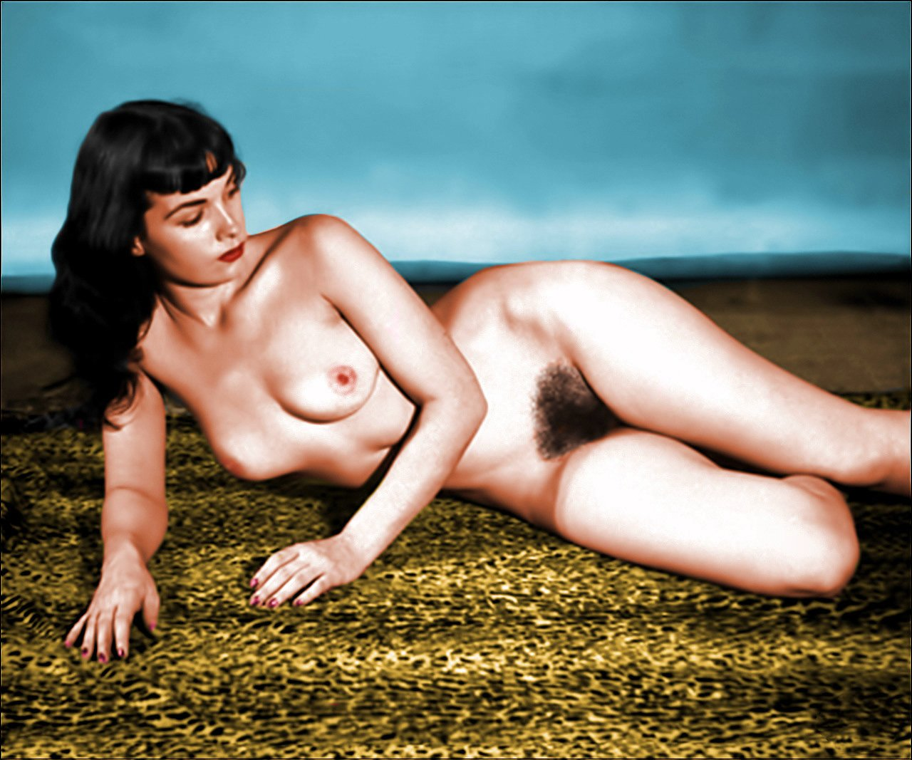 Betty page nude photo, sexy mommas pussy