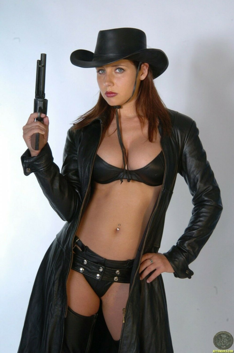 ERICA CAMPBELL Wild Old West American Frontier / Glossy Finish Photo 8x10 No1