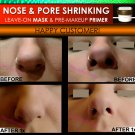 NOSE SHRINKING MASK & Pore Minimizing Primer Filler Makeup Trick Nose Job Without Surgery