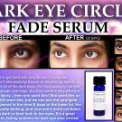 Natural Dark Circles Eye Treatment for Lightening Eyelids and Bags Fade Serum with Aloe