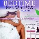 Bedtime Hands and Legs Beauty Natural Chemical Free Skin Care Kit For Women Set of 4