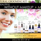 Deluxe Beautiful Without Makeup Natural Grooming Kit For Facial Features Enhancement Set of 10