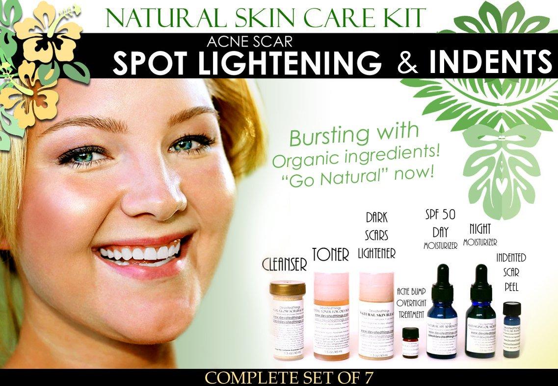 Natural acne skin care