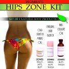 Womens Natural Hips Zone Kit for Stretch Marks Lightening Private Areas Cellulite Set of 3