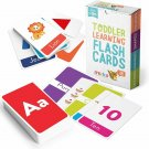 merka Educational Flash Cards for Toddlers Learn Letters Colors Shapes Numbers 5