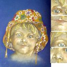 Children PORTRAIT from YOUR PHOTO drawing with pencil 50x70 cm Italy handmade