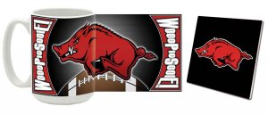 Arkansas Mug and Coaster Combo MCC-AR3