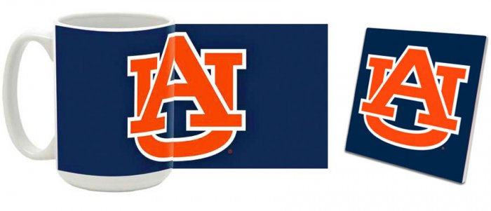 Auburn Mug and Coaster Combo MCC-ALAU1