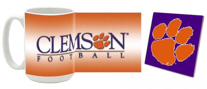 Clemson Mug and Coaster Combo MCC-SCCLEM2