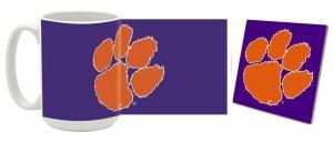 Clemson Mug and Coaster Combo MCC-SCCLEM13
