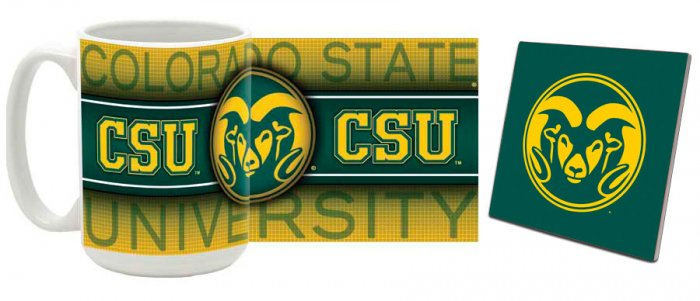 Colorado State Mug and Coaster Combo MCC-COSU1