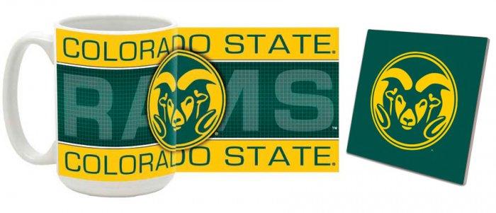 Colorado State Mug and Coaster Combo MCC-COSU2
