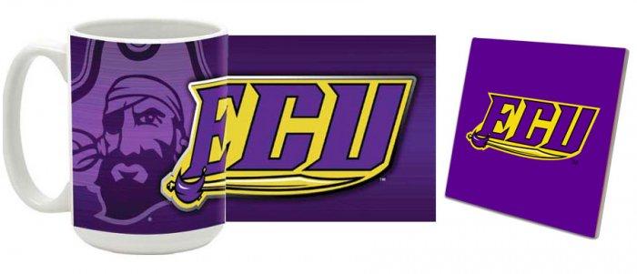 East Carolina Mug and Coaster Combo MCC-NCECU1