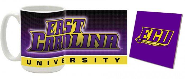 East Carolina Mug and Coaster Combo MCC-NCECU2