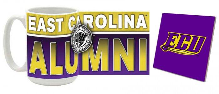 East Carolina Mug and Coaster Combo MCC-NCECU4