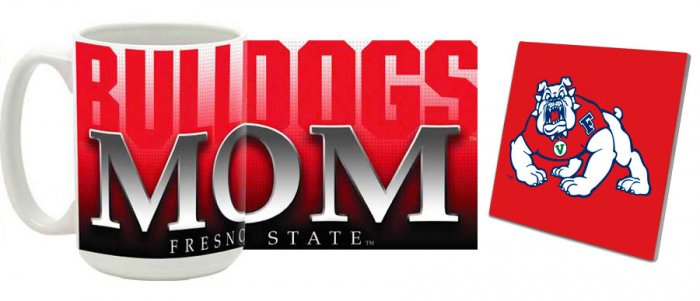 Fresno State Mug and Coaster Combo MCC-CAFSU5