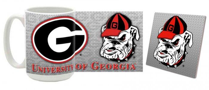 Georgia Mug and Coaster Combo MCC-GA4