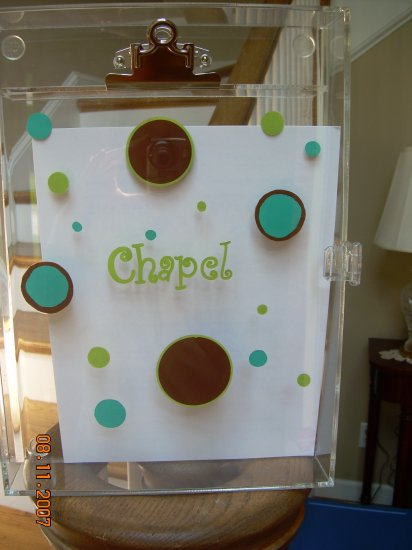 Acrylic Clipboard Busy Boxes - DOTS