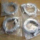 4 pcs KF-50,ISO-KF50,NW-50, Aluminium Vacuum Clamp Ring