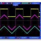 Hantek DSO5102P 100MHz 2CH Oscilloscope 1GSa/s Sample WVGA(800x480) 40K record