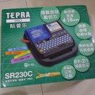 KING JIM Tepra Pro SR230C handheld Label Writer 4-18mm tape (Chinese/ENG word)