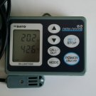 Used! SATO Temperature & Humidity DataLogger SK-L200TH II alpha