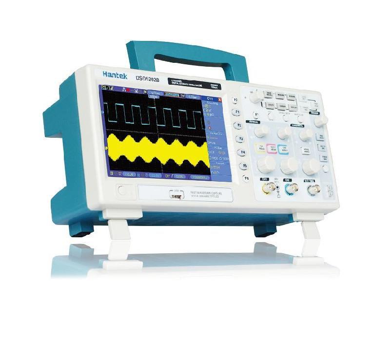 Hantek DSO5102B DSO5202B 100-200MHz 2CH Oscilloscope Record length up to 1MB