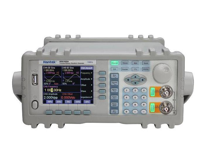 Hantek HDG1022A 40uHz~20MHz signal generator DDS tech 2 Output Sine, SQ, Pulse