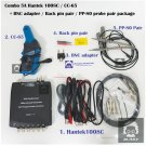 Combo 5A Hantek 1008C CC65 clamp / PP80 probe 2pcs / backpin 2pcs / BNC adapter