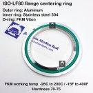 ISO LF 80 flange centering ring Inner SS304 Outer Al O-ring FKM viton
