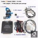 Combo 4B Hantek 1008C CC650 clamp / PP80 probe 2pcs / BNC to multimeter adapter