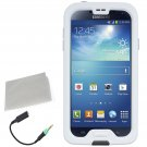 Lifeproof fre for Samsung Galaxy S4 Waterproof Case in Black / White