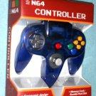 Brand New Funtastic GRAPE N64 Controller  Clear Purple Joypad