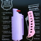 NEW POLICE MAGNUM MACE PEPPER SPRAY 1/2oz LAVENDER KEYCHAIN & PINK POCKET KNIFE
