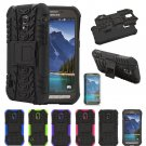 Hybrid Armor ShockProof Protective Hard Case Cover For Samsung Galaxy S5 Active