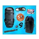 Canon EF 70-300mm f/4-5.6 IS USM Telephoto Zoom Lens + Accessory Kit w/5 Year Ex