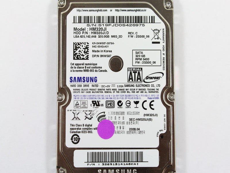 NEW Samsung M6 320GB 5400RPM 8MB Cache SATA Internal Hard Disk Drive