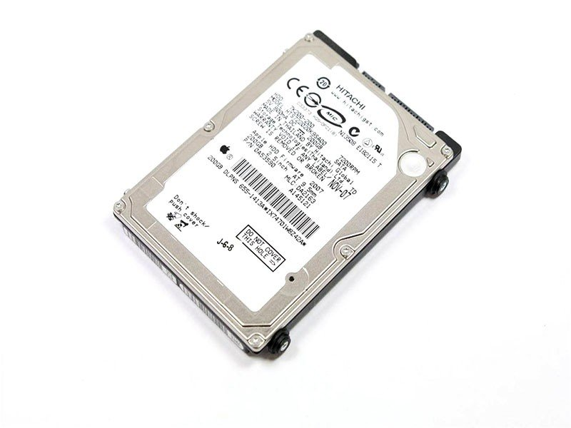 HITACHI Macbook Pros 200GB Sata Laptop Hard Drive