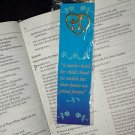 NEW MOM WITH CHILD HEART PIN & BOOKMARK SET A Mother Holds Her Childs Hand for awhile... Book Marker