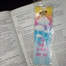 NEW RELIGIOUS FAUX PEARL PIN & BOOKMARK SET An Angel to watch over you 2 Pc Reading Book Marker